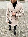 """Двубортное мужское пальто-тренч Pobedov Trench Coat """"President""""(2 цвета), фото 9"""