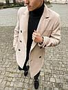 """Двубортное мужское пальто-тренч Pobedov Trench Coat """"President""""(2 цвета), фото 10"""