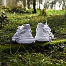 Білі кросівки Adidas Ozweego White з еко-шкіри, фото 7