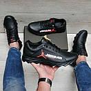 Шкіряні чоловічі кросівки Jordan, фото 5
