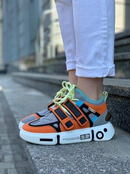 Модные женские кроссовки Li Ning 2ACE Orange