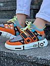 Модные женские кроссовки Li Ning 2ACE Orange, фото 3