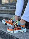 Модные женские кроссовки Li Ning 2ACE Orange, фото 4