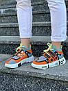 Модные женские кроссовки Li Ning 2ACE Orange, фото 7