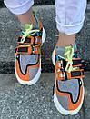 Модные женские кроссовки Li Ning 2ACE Orange, фото 9