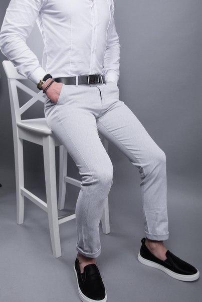 Чоловічі стильні вузькі брюки, 7 моделей