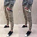 Чоловічі легкі штани з відбивачем (рефлектив), Туреччина, фото 4