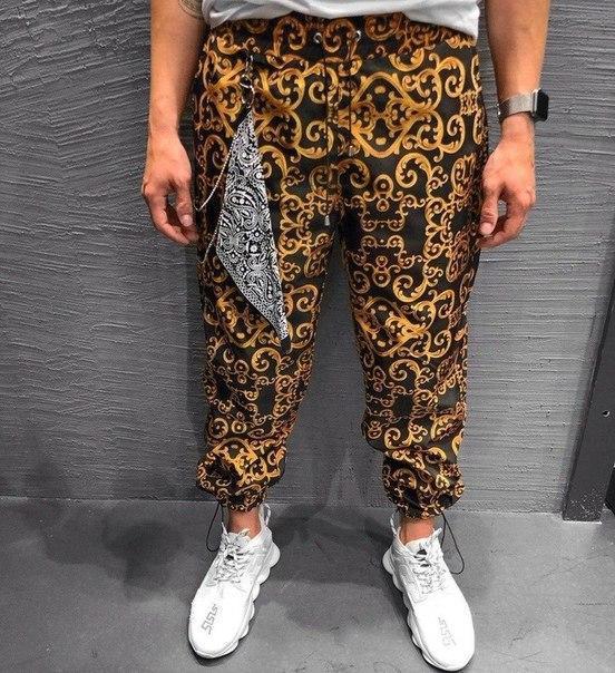 Мужские штаны из плащевки, Турция (4 модели)