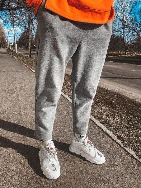 Мужские спортивные штаны из кашемира, Турция (два цвета)