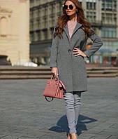 Базовое кашемировое пальто 2021 42; 44; 46; 48 чёрный, зелёный, фуксия, бордовый, голубой