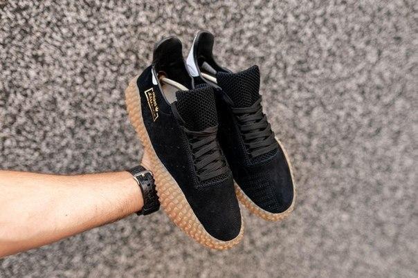 Кроссовки мужские Adidas Kamanda x CP Company черные