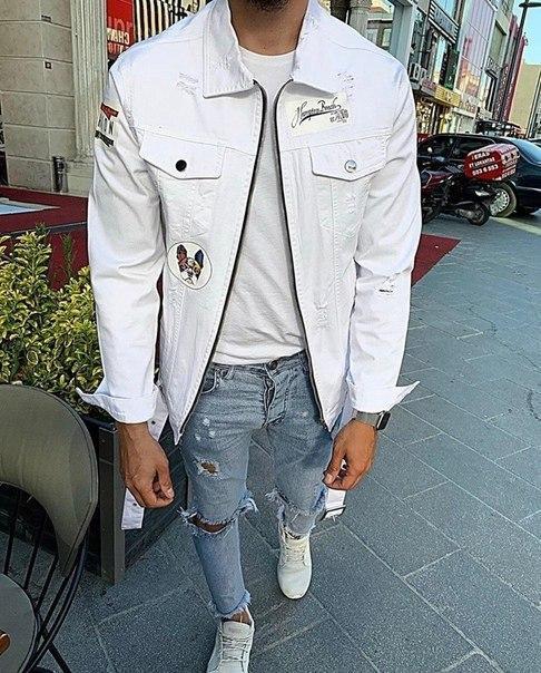 Весенняя джинсовая куртка, три цвета
