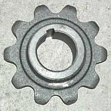 Звездочка верх.вала накл.кам 3518060-13028 ДОН-1500 z=10,t=38, фото 3