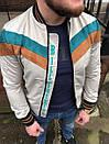 Чоловіча куртка-бомбер зі вставками велюру, Туреччина, фото 4