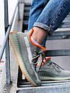 Текстильні кросівки Adidas Yeezy Boost 350 V2 Linen Revealed, фото 7