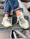 Жіночі кросівки Adidas Yeezy Boost 350 V2 Hyperspace з текстилю, фото 4