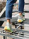 Жіночі кросівки Adidas Yeezy Boost 350 V2 Hyperspace з текстилю, фото 5