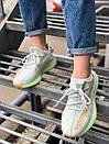 Жіночі кросівки Adidas Yeezy Boost 350 V2 Hyperspace з текстилю, фото 8