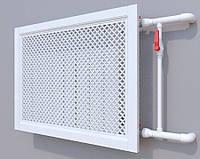 Декоративная решетка на батарею SMARTWOOD | Экран для радиатора | Накладка на батарею 600*600 Решетка,