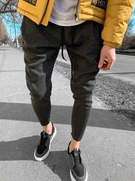 Модні чоловічі спортивні штани, Туреччина (два кольори)