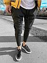 Модні чоловічі спортивні штани, Туреччина (два кольори), фото 5