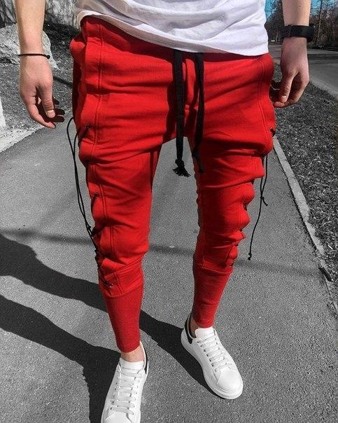 Мужские стильные спортивные штаны, Турция (три цвета)