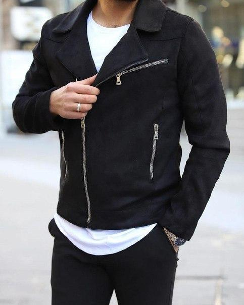 Мужская стильная куртка, весенняя