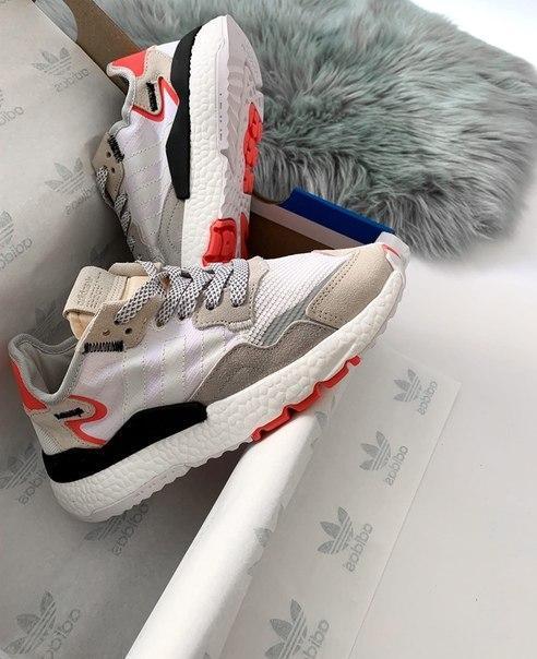 Жіночі модні кросівки Adidas Nite Jogger