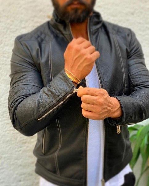 Мужская стильная куртка люкс качество