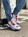 Чоловічі білі кросівки Adidas Solar HU Glide ST White, фото 7