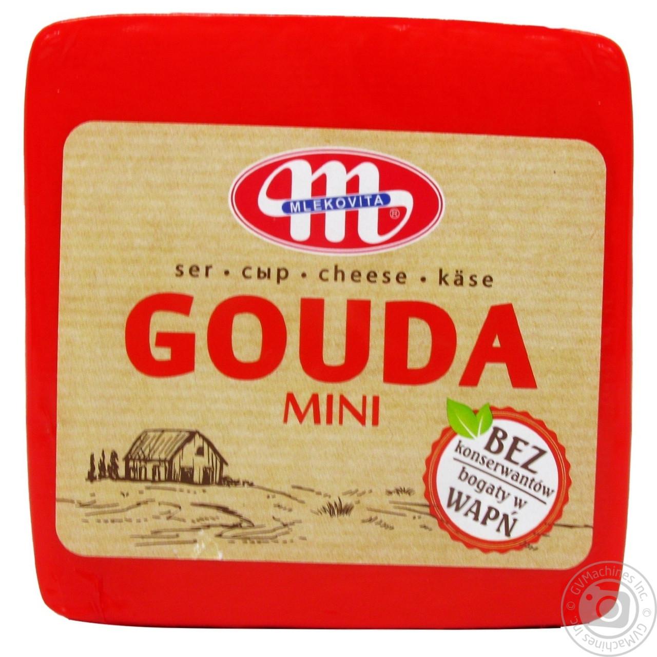Сыр полутвердый Гауда Mini Gouda Mlekovita, 1кг