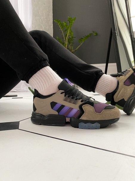 Чоловічі кросівки Adidas ZX Torsion Packer Shoes Mega Violet Топ якість