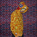 Мужская яркая толстовка Bape x PUBG camo, фото 2