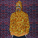 Мужская яркая толстовка Bape x PUBG camo, фото 6