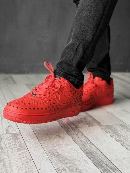 Мужские прорезиненные кроссовки Nike Air Force, два цвета