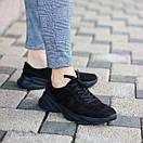 """Чоловічі чорні замшеві кросівки """"Стріт"""", фото 4"""