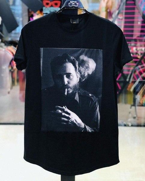 Чорна чоловіча футболка якість люкс, Туреччина