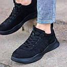 Чоловічі якісні кросівки з нубуку, фото 2