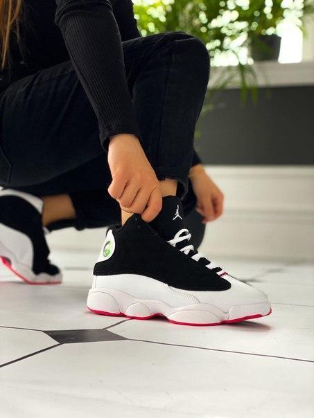 """Модные женские кроссовки Nike Air Jordan 13 Retro """"Hyper Pink"""" Топ качество"""