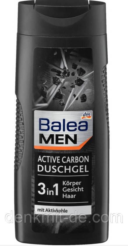 Balea Шампунь, гель для чоловіків ACTIVE CARBON, 300 мл