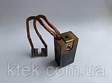 Щітка ЭГ4 22х30х60 к1-7 графітова (оміднений кінець)