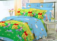 Подростковый комплект постельного белья Viluta ткань Ранфорс Винни пух Американский