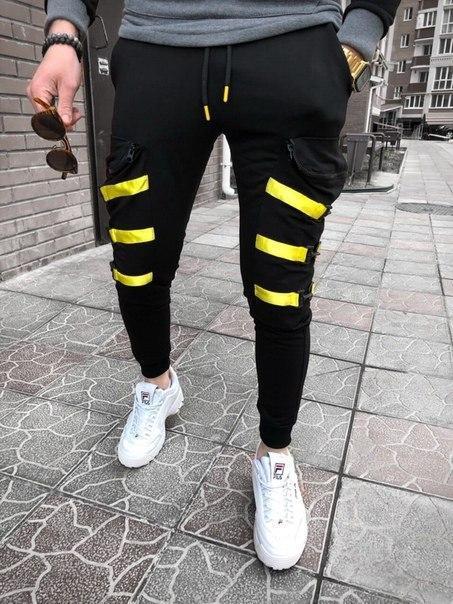 Чорні модні чоловічі спортивні штани, Туреччина