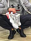 Женские кожаные кроссовки Nike на толстой подошве, фото 3