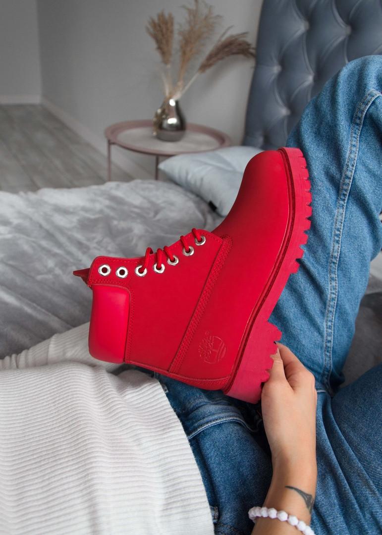 Унісекс черевики Тimberlad Red (Termo)
