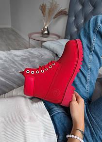 Мужские ботинки  Timberland Red