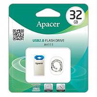 Флешка USB Flash Apacer USB 32Gb AH111 blue/silver (as), фото 4
