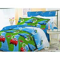 Подростковый комплект постельного белья Viluta ткань Ранфорс Тачки