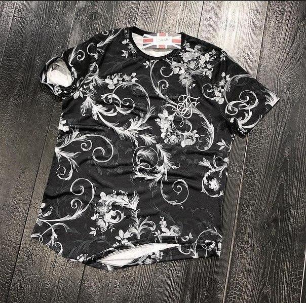 """Стильная мужская футболка """"Sik Silk"""" высокого качества, Турция"""