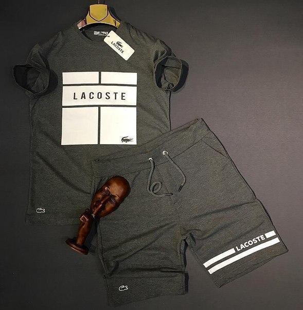 Чоловічий річний комплект: футболки та шорти, Туреччина (5 моделей)